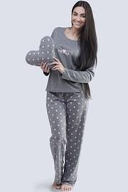 Grauer Pyjama Meow