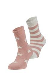 2er Pack wärmender Socken Estrella