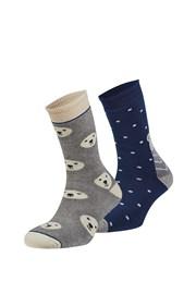 2er Pack wärmender Socken Rubí