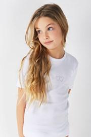 T-Shirt aus Baumwolle für Mädchen Lea