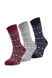 3er Pack wärmende Socken Invierno