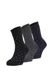 3er Pack wärmende Socken Alma