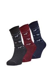 3er Pack wärmender Socken Sabado