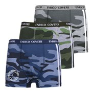 3er-Pack Boxershorts Army