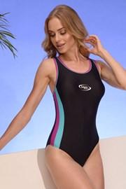 Einteiliger sportlicher Badeanzug Alex 04 für Damen