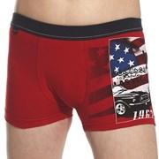 Boxershorts für Jungen America Red