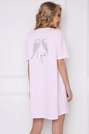 Damen Nachthemd Angel rosa