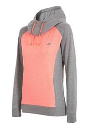 Damen Sport Hoodie 4f Double Orange