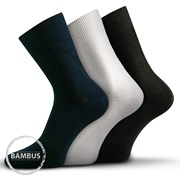 3er-Pack Business-Socken Badon Mix aus Bambus