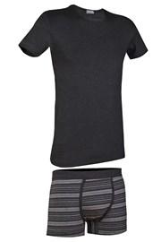 Herren-Set T-Shirt und Boxershorts Primal 166BA