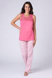 Rosaroter Pyjama Jersey