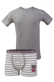 Set Boxershorts und T-Shirt Enrico Coveri