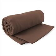 Braunes schnell trocknendes Handtuch Ekea