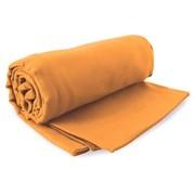 Orangenes schnell trocknendes Handtuch Ekea