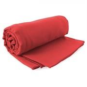 Rotes Set schnell trocknendes Hand- und Badetuch Ekea