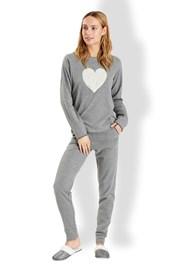 Italienischer Damen Pyjama Love