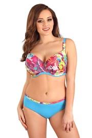 Bikinitop Flowers Blue