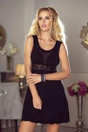 Luxuriöses Nachthemd Grace Black