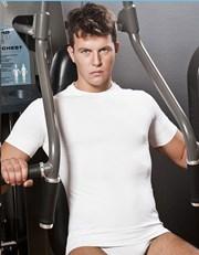 Herren T-Shirt HASTER Antibacterial Sport nahtlos