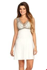 Luxuriöses Nachthemd Larisa Pearl