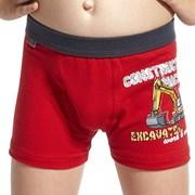 Boxershorts für Jungen Machine Red