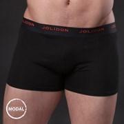 Herren Boxershorts JOLIDON Silk Touch Black