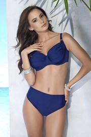Bikinitop Whitney Blue unwattiert