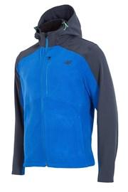 Herren Jacke 4f Softshell Blue