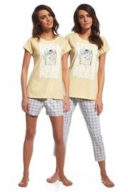 Dreiteiliges Set Pyjama Parfum