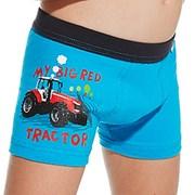Boxershorts für Jungen Red tractor