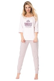 Damen Pyjama Be yourself