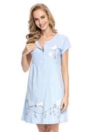 Mutterschafts-, Still-Nachthemd Tamara Blue