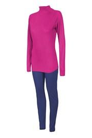 Damen Set Shirt und lange Unterhose 4f