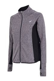 Damen Funktions-Hoodie 4F Dry Control grey