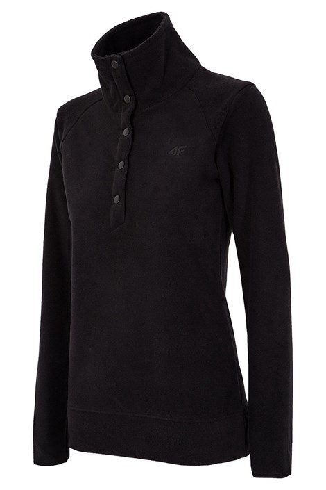 Damen Sport-Fleecesweatshirt 4F Buttons
