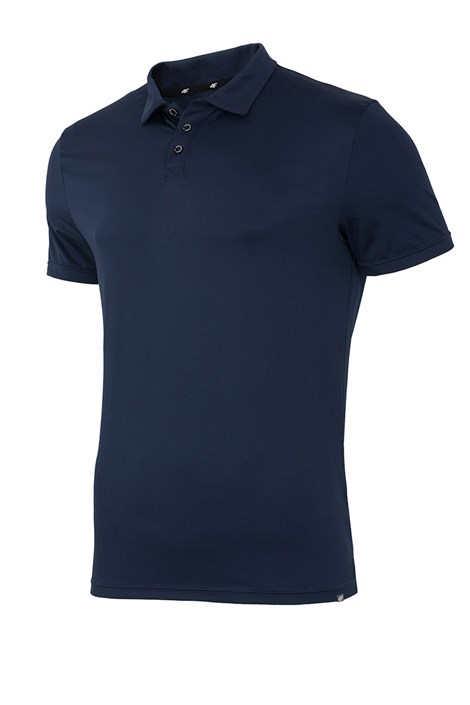 Herren Poloshirt 4F Dry Control Navy