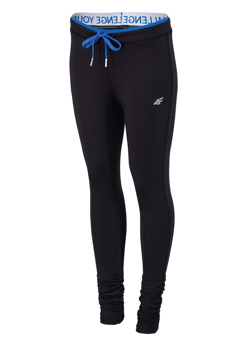 damen sport leggings 4f black. Black Bedroom Furniture Sets. Home Design Ideas